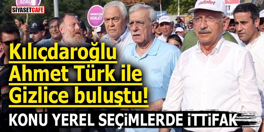 Kılıçdaroğlu Ahmet Türk ile gizlice buluştu! Konu yerel seçimlerde ittifak