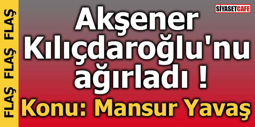 Akşener Kılıçdaroğlu'nu ağırladı! Konu: Mansur Yavaş