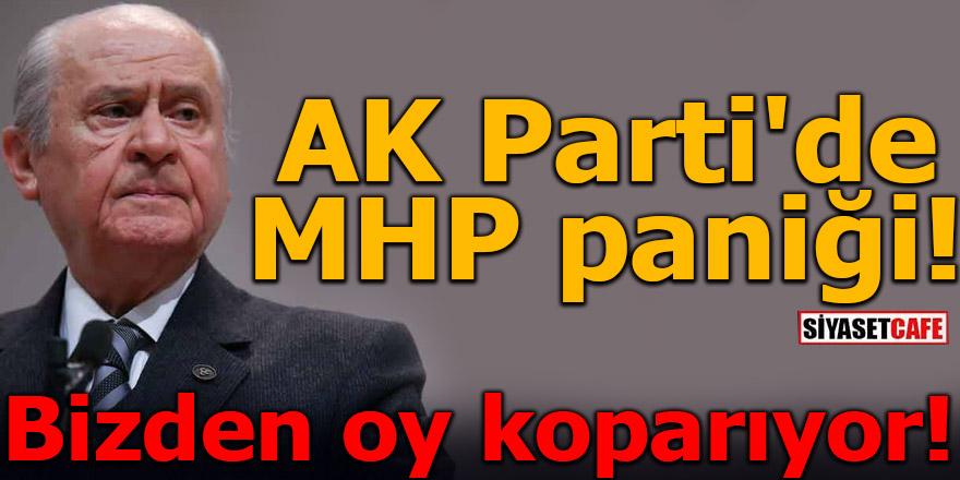 AK Parti'de MHP paniği! Bizden oy koparıyor