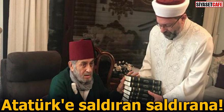Atatürk'e saldıran saldırana!