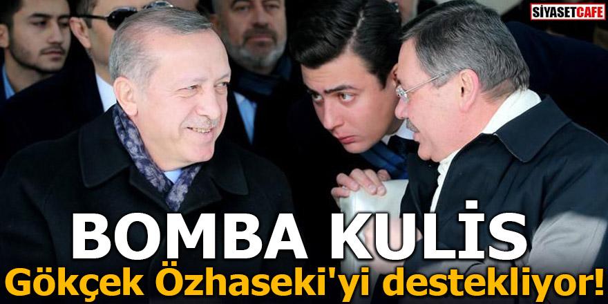 BOMBA KULİS! Gökçek Özhaseki'yi destekliyor