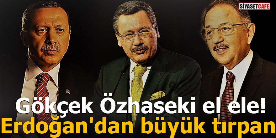 Gökçek Özhaseki el ele! Erdoğan'dan büyük tırpan