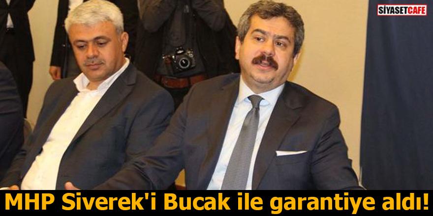 MHP Siverek'i Bucak ile garantiye aldı!
