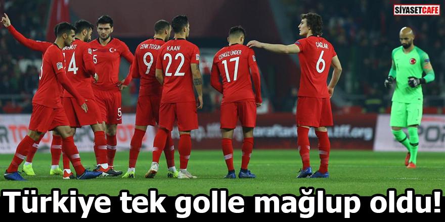 Türkiye İsveç'e tek golle mağlup oldu!