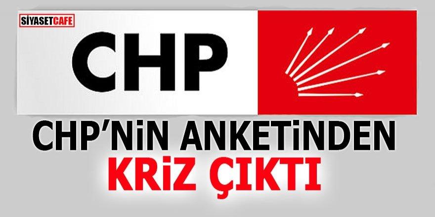CHP'nin anketinden kriz çıktı