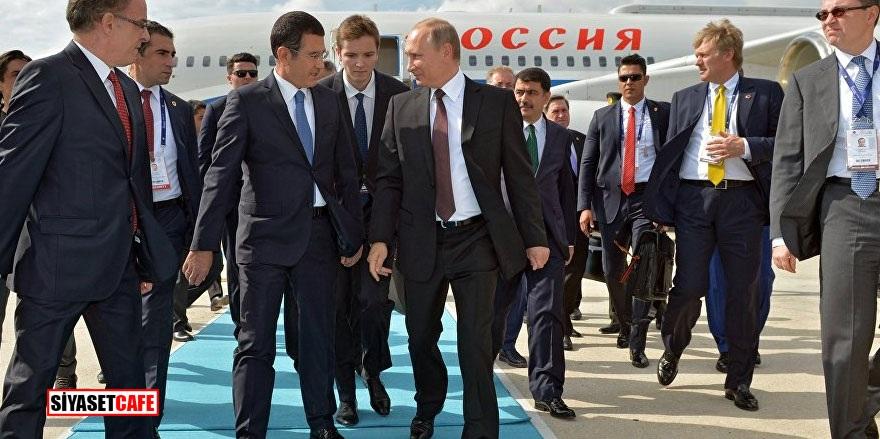Putin dev proje için İstanbul'da!