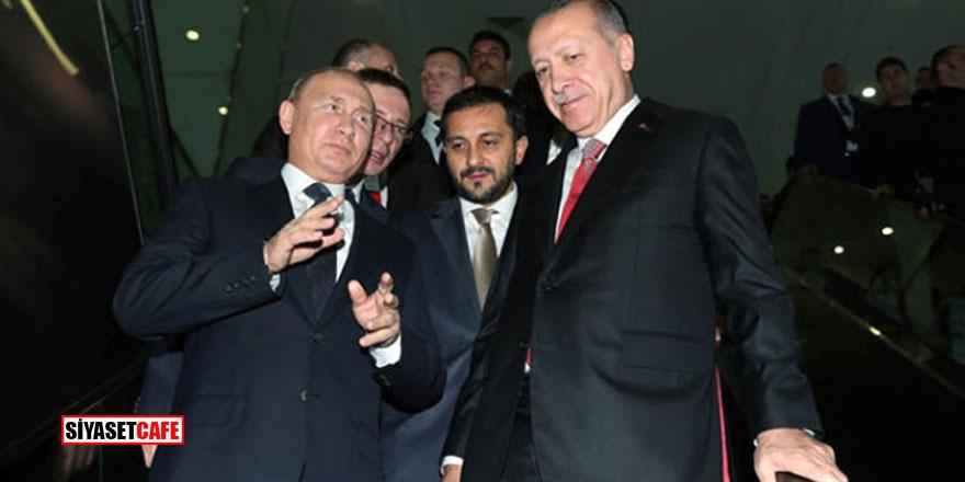 Erdoğan Putin'e bakın hangi kitabı hediye etti!