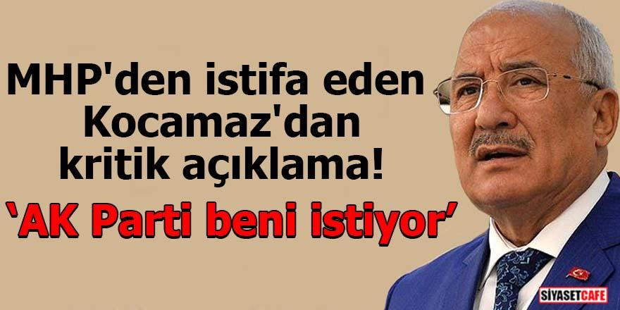 MHP'den istifa eden Kocamaz'dan kritik açıklama! AK Parti beni istiyor