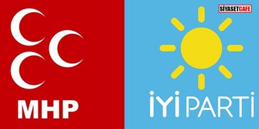 İYİ Parti'ye şok! İstifa edip MHP'ye geçtiler