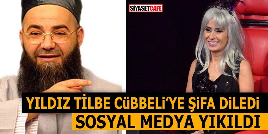 Yıldız Tilbe Cübbeli'ye şifa diledi! Sosyal medya yıkıldı