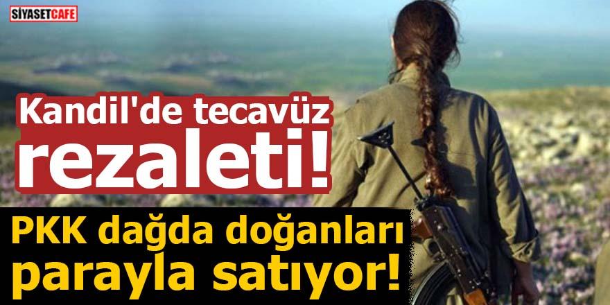 Kandil'de tecavüz rezaleti! PKK dağda doğanları parayla satıyor