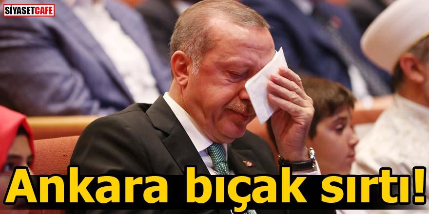 Ankara bıçak sırtı!