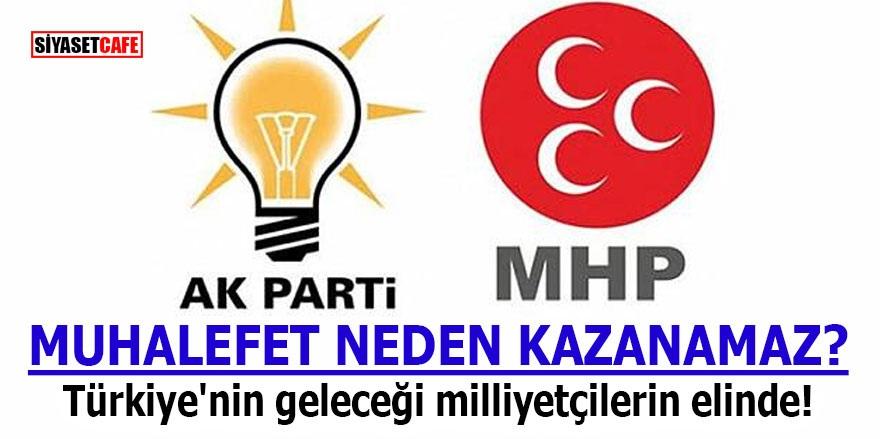 MUHALEFET NEDEN KAZANAMAZ? Türkiye'nin geleceği milliyetçilerin elinde