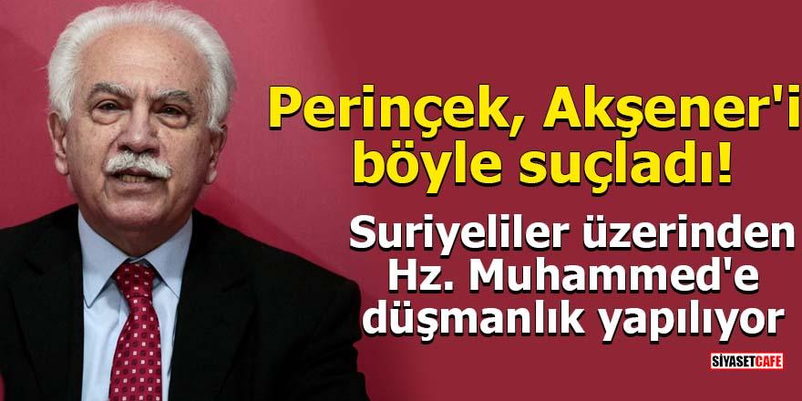 Perinçek Akşener'i böyle suçladı!