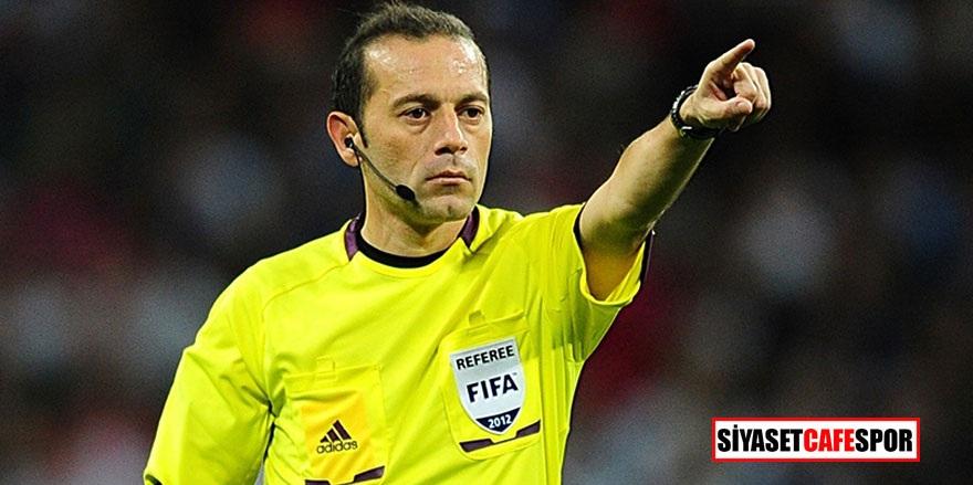 Cüneyt Çakır'a Şampiyonlar Liginde zorlu görev!