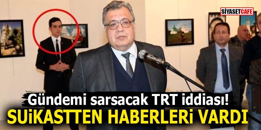 Gündemi sarsacak TRT iddiası! Suikastten haberleri vardı