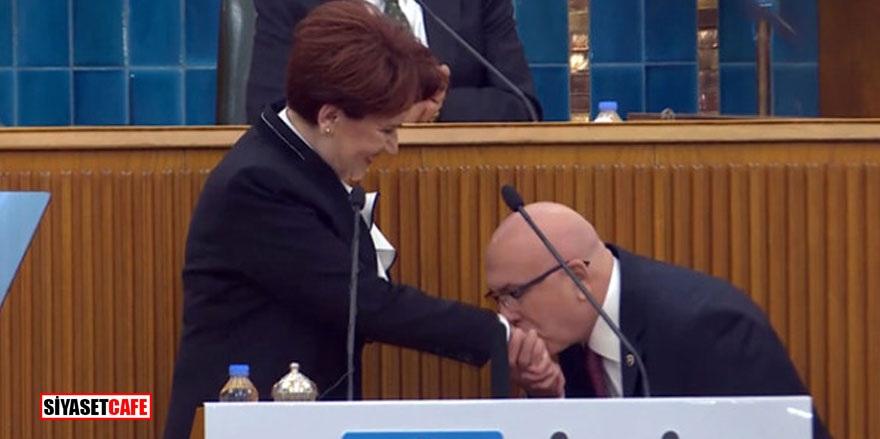 Büyükşehir adayı gösterildi! Akşener'in elini öptü
