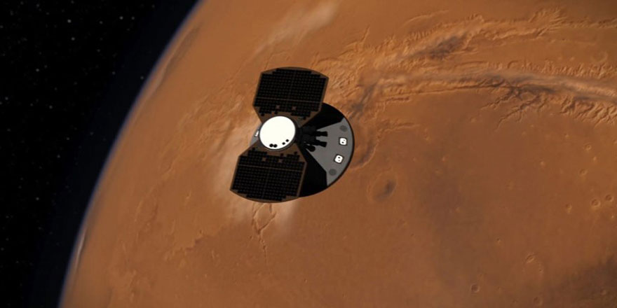 Mars'ta sismik inceleme yapacak olan araç yüzeye indi