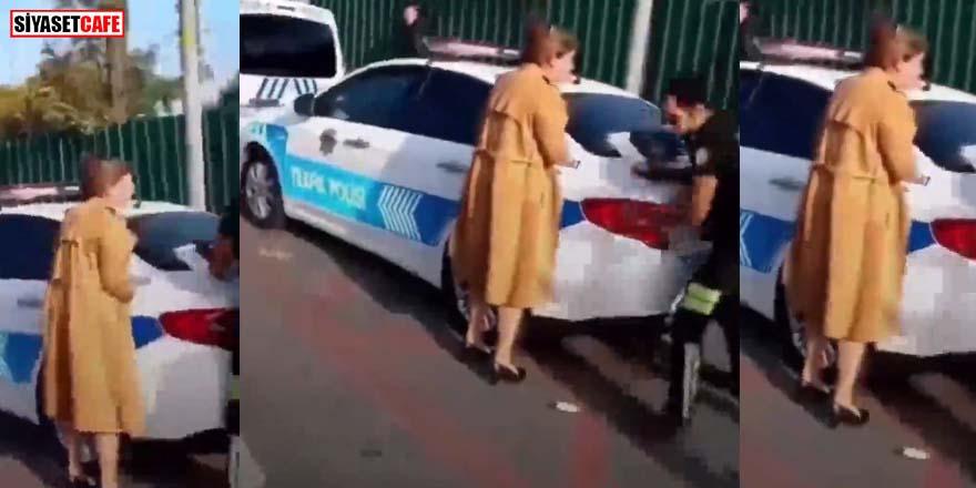 Kadın öğretmenin trafik cezasına itirazı kulakları sağır etti!