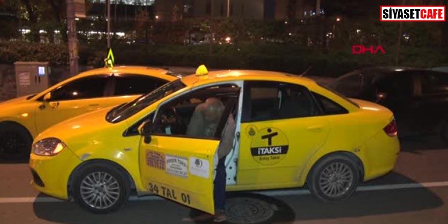 Bayrampaşa'da taksiciye silahlı saldırı dehşeti kamerada!