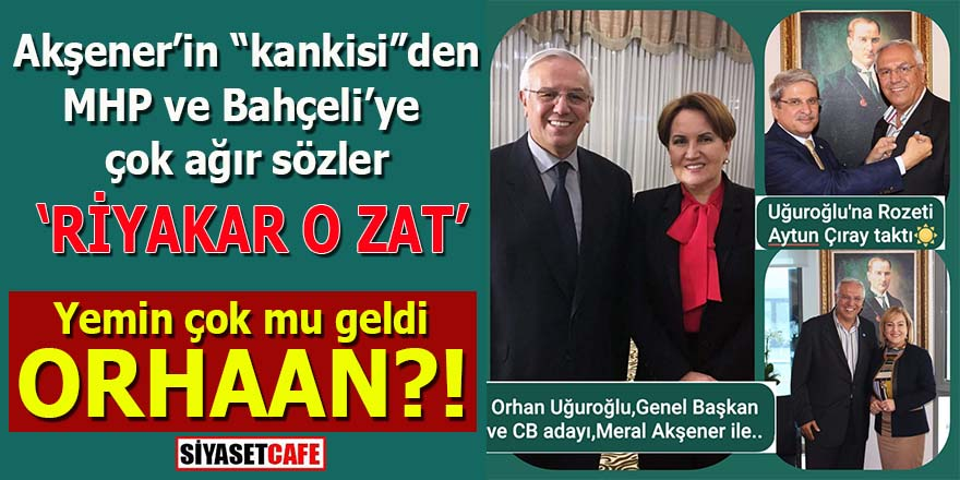 """Akşener'in """"kankisi""""nden Bahçeli'ye çok ağır sözler"""
