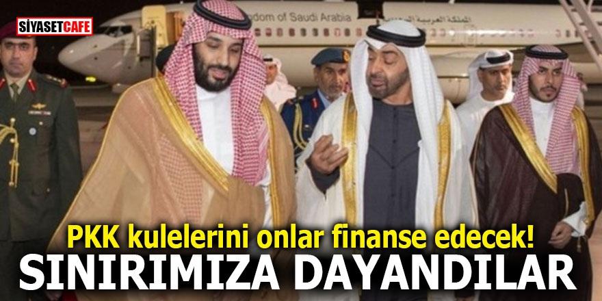 PKK kulelerini onlar finanse edecek! SINIRIMIZA DAYANDILAR