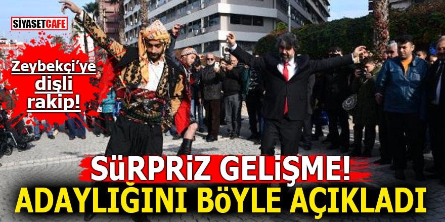 İzmir Büyükşehir adaylığını zeybek oynayarak açıkladı!