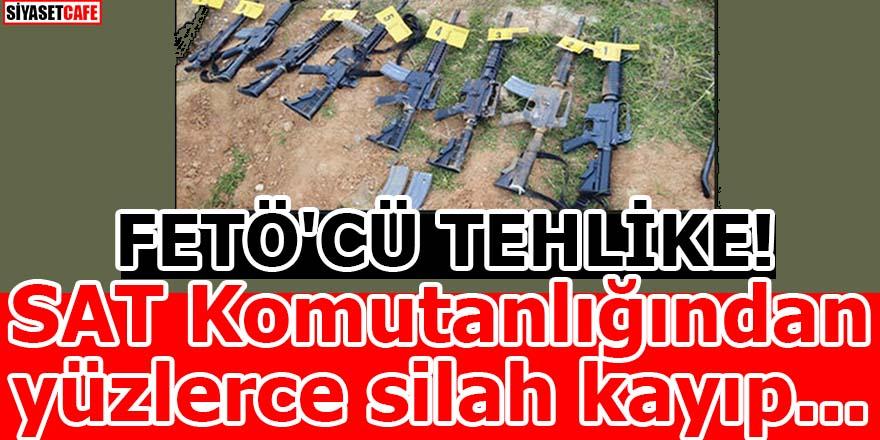 FETÖ'CÜ TEHLİKE SAT! Komutanlığından yüzlerce silah kayıp