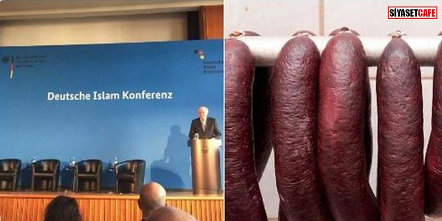 SKANDAL: İslam Konferansı'nda domuz eti verdiler