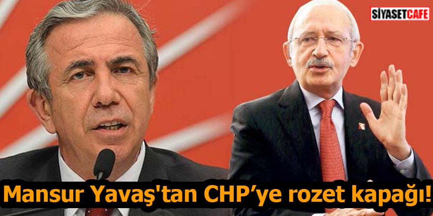 Mansur Yavaş'tan CHP'ye rozet kapağı!