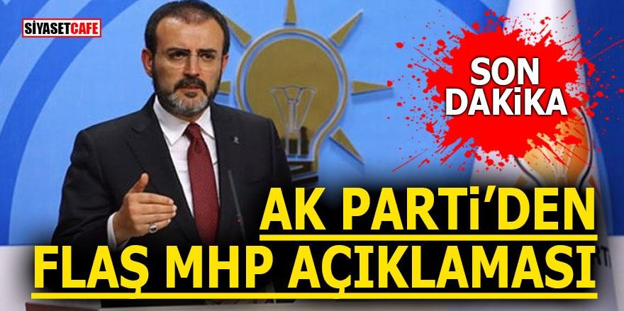 AK Parti'den flaş MHP açıklaması!