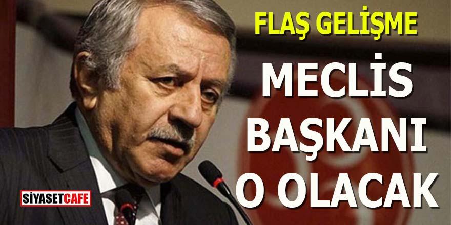 Binali Yıldırım'ın halefi MHP'den: Meclis Başkanı O olacak