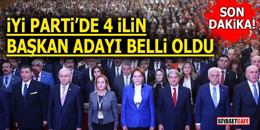 İYİ Parti'de 4 ilin başkan adayı belli oldu!
