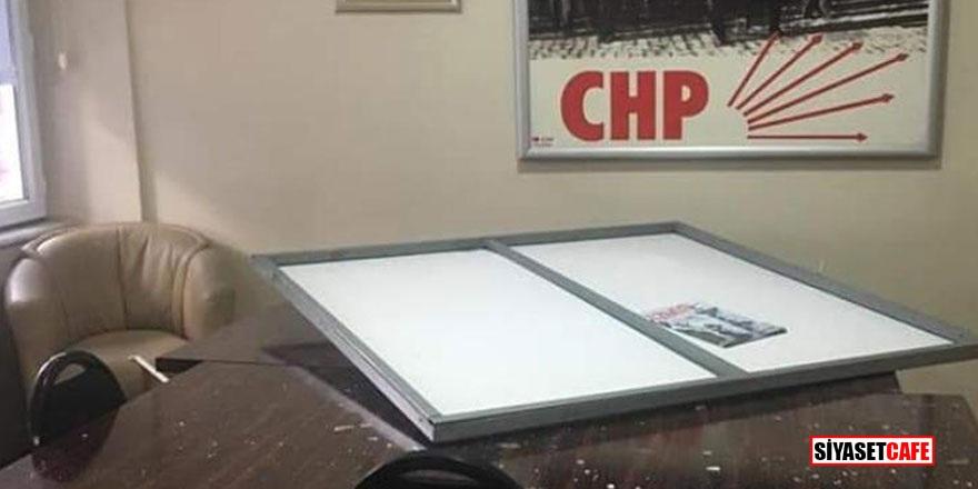 CHP İlçe binasına saldıran bakın kim çıktı!