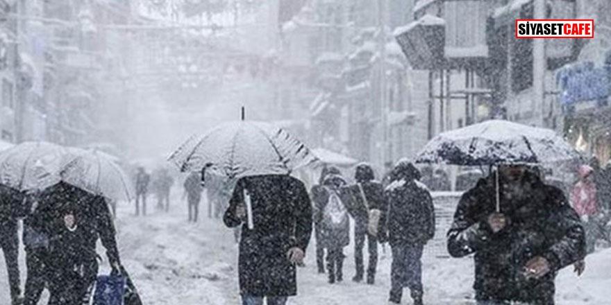 İstanbul'da kar yağışı başladı: Meteorolojiden kritik uyarı