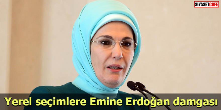 Yerel seçimlere Emine Erdoğan damgası