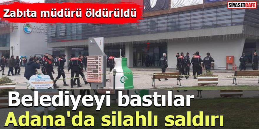 Adana'da silahlı saldırı Belediyeyi bastılar