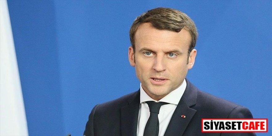 Macron'dan flaş açıklama!