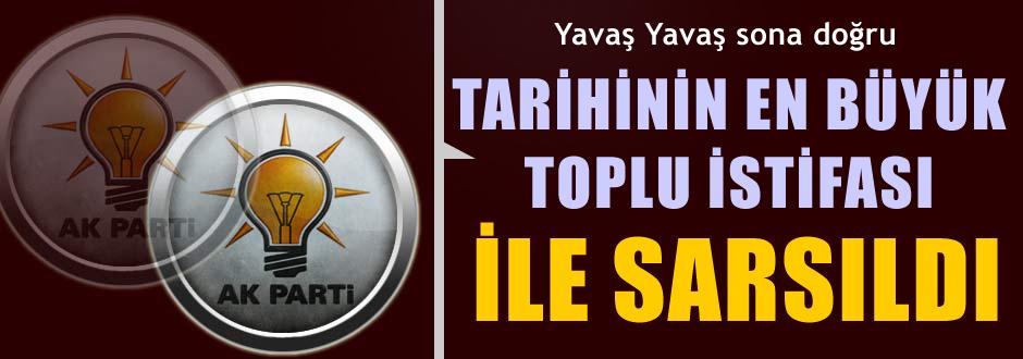 AKP'de bir toplu istifa haberi daha!