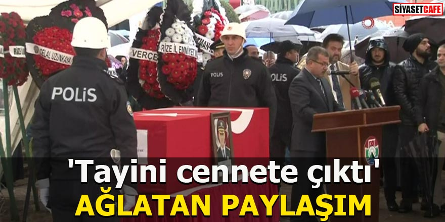 'Tayini cennete çıktı' AĞLATAN PAYLAŞIM