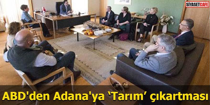 ABD'den Adana'ya 'Tarım' çıkartması