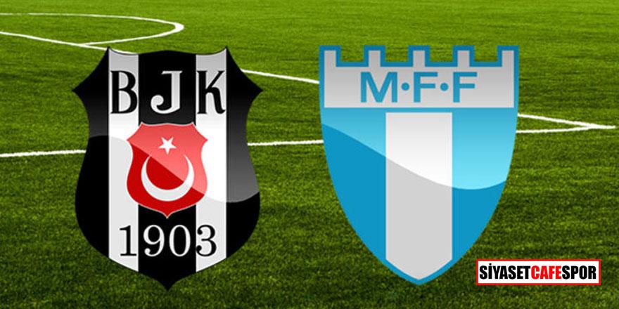 Siyah beyazlılar evinde mağlup oldu! Beşiktaş 0 - 1 Malmö