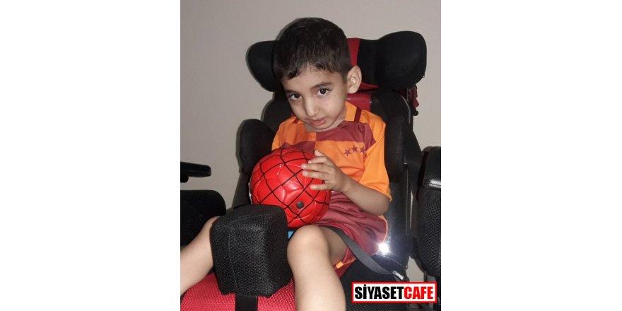 Serebral Palsi hastası Minik Hüseyin yardım bekliyor