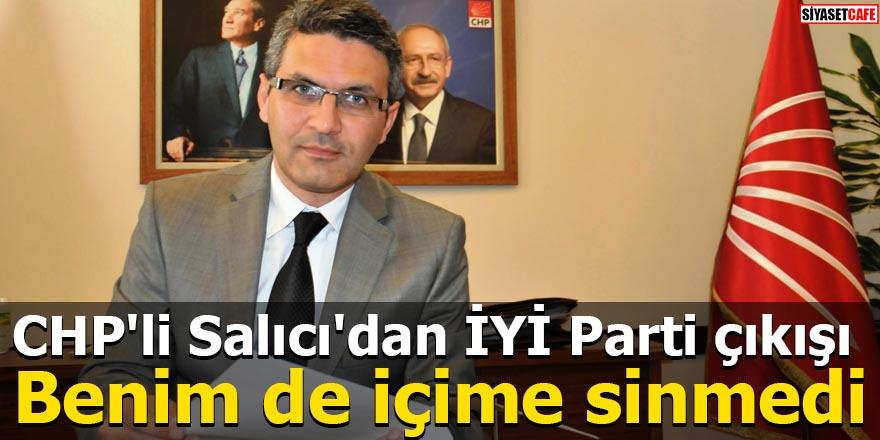 CHP'li Salıcı'dan İYİ Parti çıkışı Benim de içime sinmedi