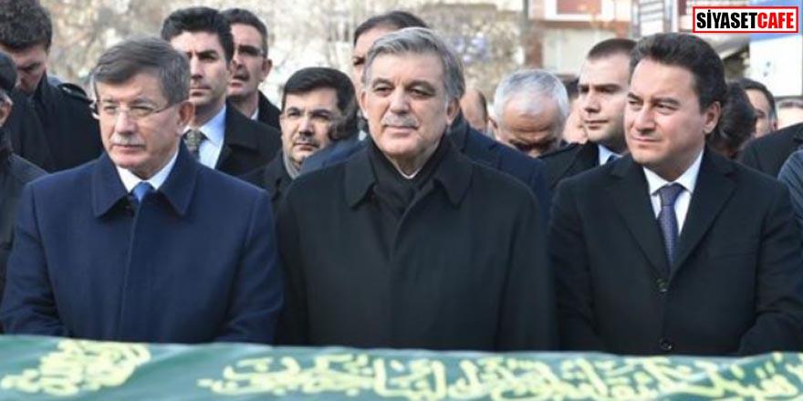 Abdullah Gül, Ahmet Davutoğlu ve Ali Babacan yan yana geldi