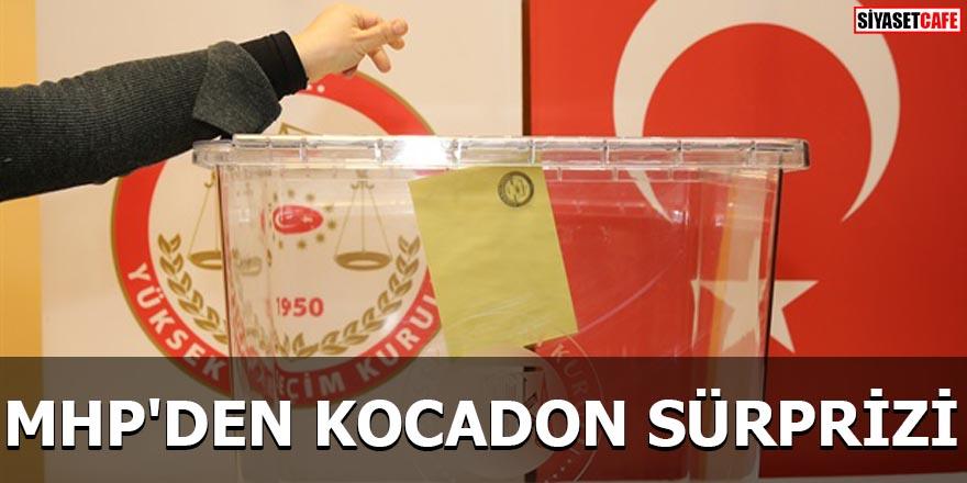 MHP'den Kocadon sürprizi