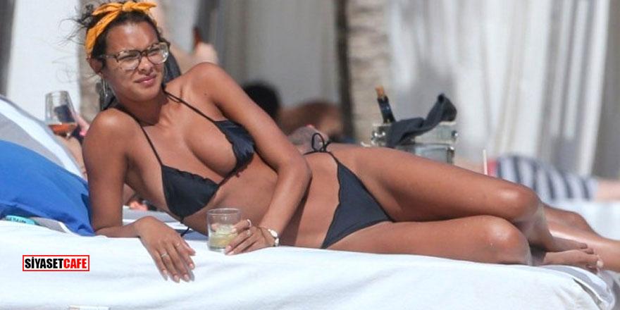 Victoria Secret'ın Brezilyalı meleği Meksika'yı salladı