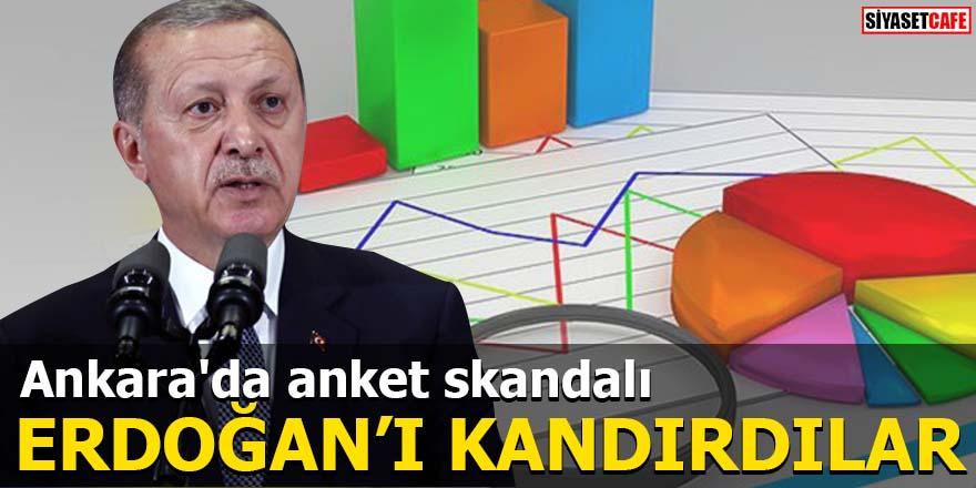 Ankara'da anket skandalı Erdoğan'ı kandırdılar