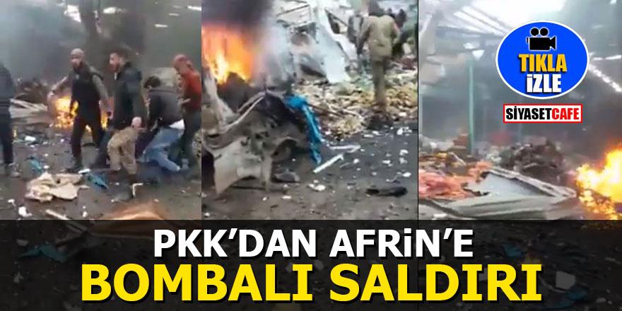 Afrin'deki bombalı saldırıyı onlar üstlendi