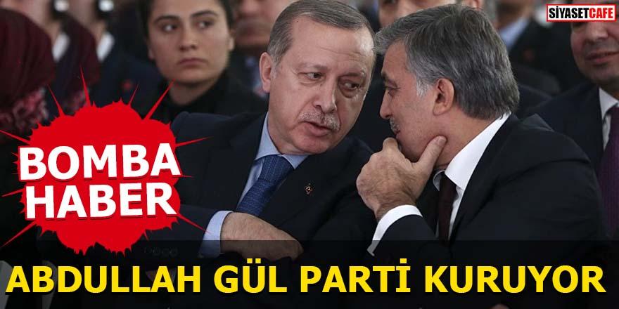 BOMBA HABER Abdullah Gül parti kuruyor